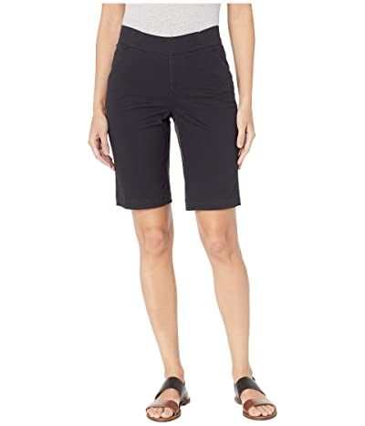 Jag Jeans Gracie Pull-On Bermuda Shorts Twill (Black) Women