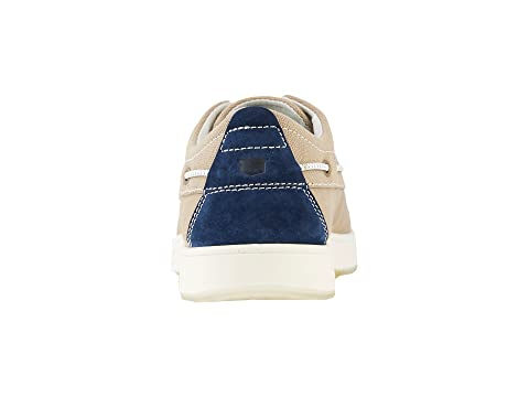 Nubuck Del Florsheim Pie Zapato Dedo Moc Nubucknavy Caqui De De Marino Lona Barco Color Del Borde Del Azul rqtra