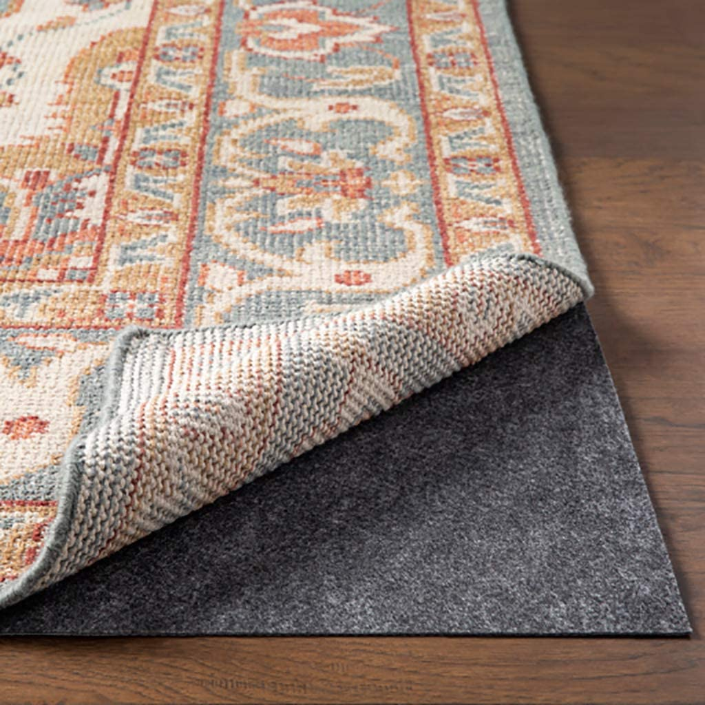 Sound and Shock Absorbing Trosky 2 x 4 Rectangle Non-Slip Area 100/% Felt Rug Pad Safe for All Finishes Rubber Backing Hardwood Floors and Hard Surfaces Premium Cushioned Support