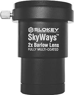 Barlow 2X Pro Slokey SkyWays Achromatische lens van uitstekende kwaliteit, behandeld met FMC en antireflecterende coating ...