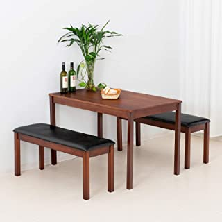 Best pine table and bench Reviews
