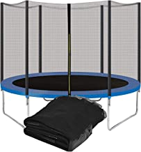 Rond Trampoline Behuizing Net Ademend Tear Fence Vervanging Veiligheid Mesh Netting Past Alle Merken Trampoline Accessoire...