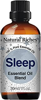 Natural Riches Aromatherapy Good Night Sleep Blend, Calming Essential Oils -30ml Pure and Natural Therapeutic Grade, Relax...
