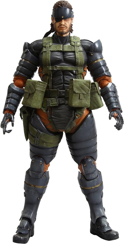 Metal Gear Solid Peace Walker Play Arts Kai Snake Battle Dress Ver. (PVC Figure)