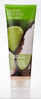 Desert Essence Coconut Lime Hand & Body Lotion - 8 Fl Ounce - Refreshing - Soft & Silky - Vitamin E - Aloe Vera - Deeply H...