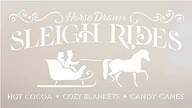 Best sleigh ride stencil Reviews