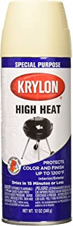 KRYLON PRODUCTS GROUP K01407000 Stove and Propane Paint, 12 oz, Beige