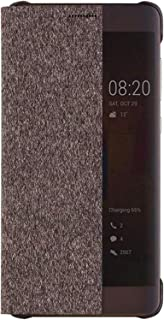 Huawei Mate 9 Pro Smart View Flip Cover Case - Brown