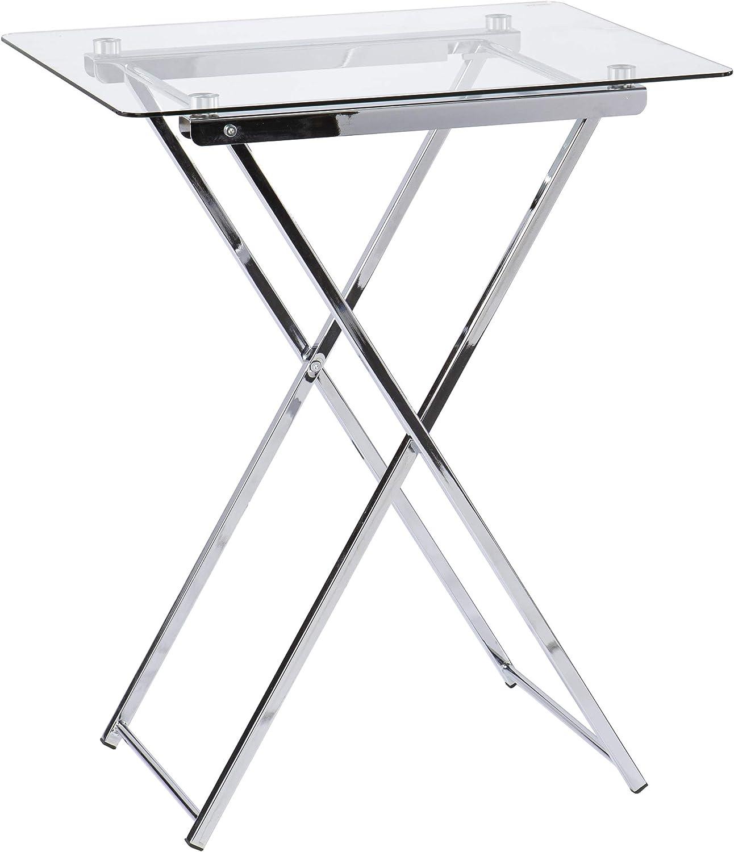 Meridino Folding Tray Recommendation Chrome Table Bombing new work