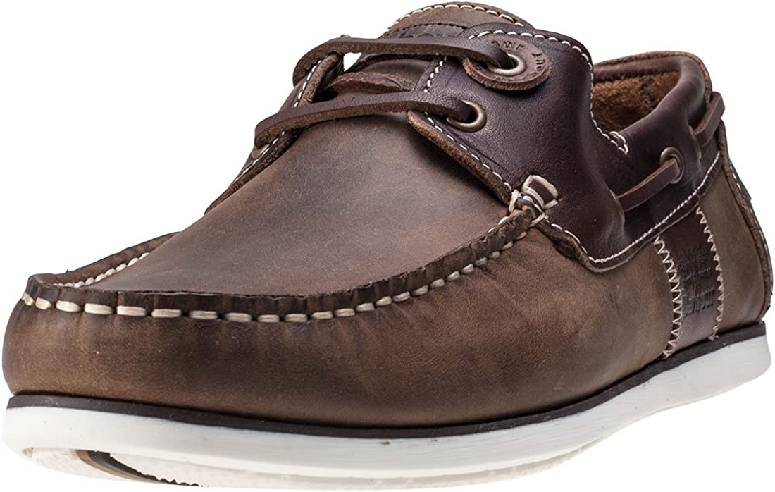 Barbour 正規店 Mens Capstan Summer 最新アイテム Holiday Boat Leather Moccasins Shoes