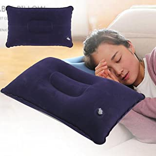 Portable Fold Outdoor Travel Sleep Pillow Air Inflatable Cushion Break Rest Comfortable Pillows for Sleep Travel Accessories