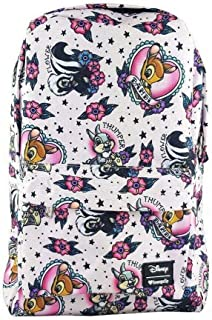 Loungefly Disneys Bambi Print Pink Backpack Standard
