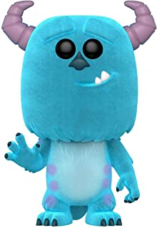 Funko Pop! Disney: Monster's Inc - Sulley aterciopelado exclusivo de Amazon