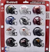 big 12 conference mini helmet set