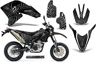 CreatorX Yamaha Wr250X Wr250R Wr 250 R X Graphics Kit Decals SpiderX Silver Incl. Number Plate & Rim Graphics