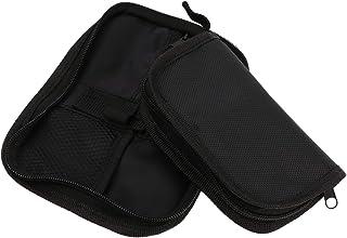 HEALLILY 2 Unidades de Medidor de Glucosa Bolsa Esfigmomanómetro Caja de Transporte Medidor de Glucosa en Sangre Organizador de Viaje Suministros Médicos