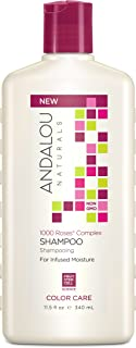 Andalou Naturals 1000 Roses Complex Color Care Shampoo, 11.5 Ounces