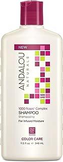 Andalou Naturals 1000 Roses Complex Color Care Shampoo, 11.5 Ounce Bottle
