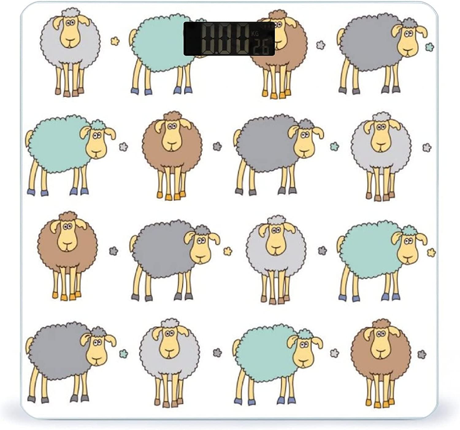 Deluxe CHUFZSD Colorful Free Shipping New Sheeps Pattern Highly Fitness Accurate Sc Smart