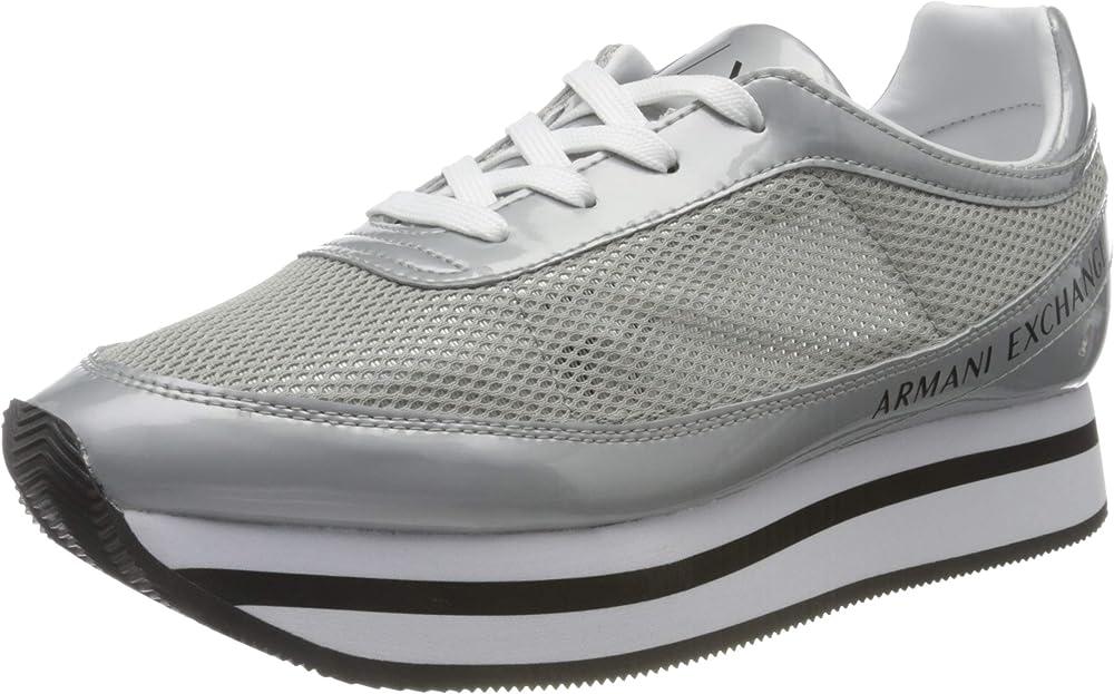 Armani exchange sneaker scarpe da ginnastica da donna V314
