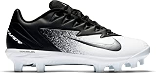 Men's Vapor Ultrafly Pro MCS Baseball Cleat Black/Metallic Silver/White Size 15 M US