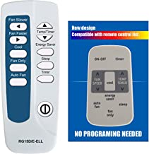 Sponsored Ad - RCECAOSHAN Replacement for Frigidaire Air Conditioner Remote Control Model Number RG15D/E-ELL RG15D/E-ELL1