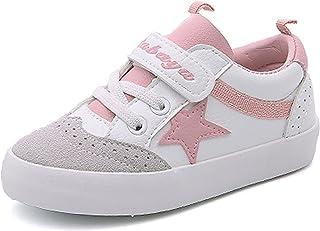 Henraly Kids School Board Sneakers Pleather Outdoor Running Shoes (Toddler/Little Kid/Big Kid)