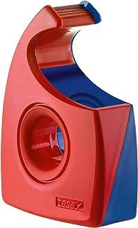 Tesa Tesafilm afroller (golfmes, tot rolbreedte 19 mm, rood/blauw) 57444-0001-01