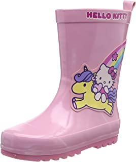 2a052cf3401 Hello Kitty Girls Kids Boots Rainboots, Botas de Agua para Niñas