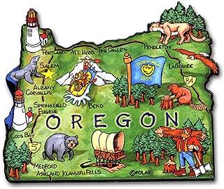 ARTWOOD MAGNET - OREGON STATE MAP