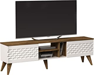 Decorotika Eggea Modern TV Stand Media Console fits up to 70
