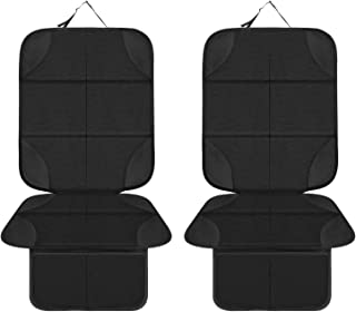 Car Seat Protector, MHO+All 2 Pack Auto Car Seat Protectors for Child Baby Car Seat - XL Thickest seat Protectors & Waterp...