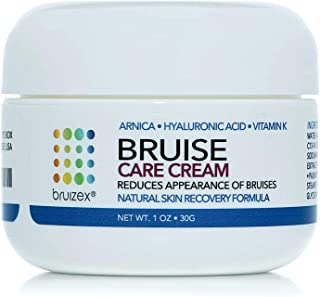 BRUIZEX Bruise Care Cream, 1 oz. Bruise Removal Cream with Natural Arnica Montana and Vitamin K | Excellent for Reducing S...