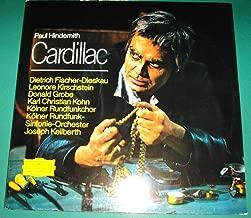 PAUL HINDEMITH: Cardillac- Dietrich Fischer-Dieskau,Kolner Rundfunk Sinfonie Orchester, Joseph Keilberth, Cond.- Deutsche Grammophon- SLPM 139 435 & 139 436- Double (2)Stereo-1969