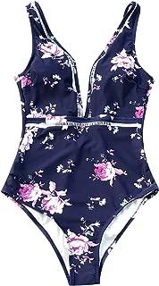 Women's in The Forest One-Piece Swimsuit Beach Swimwear Bathing Suit