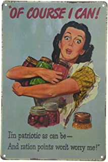 Nonbrand Home Canning Preserve Pickle Homestead Kitchen Retro Metal Tin Sign New 8x12 Inches