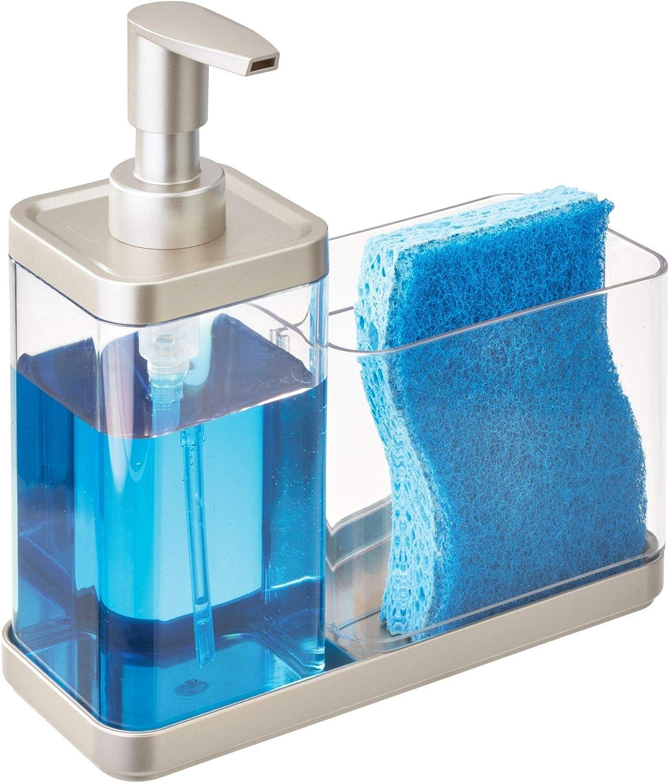 iDesign Emery BPA-Free Plastic Sink Sacramento Mall 2-Co In a popularity Dispenser and Organizer