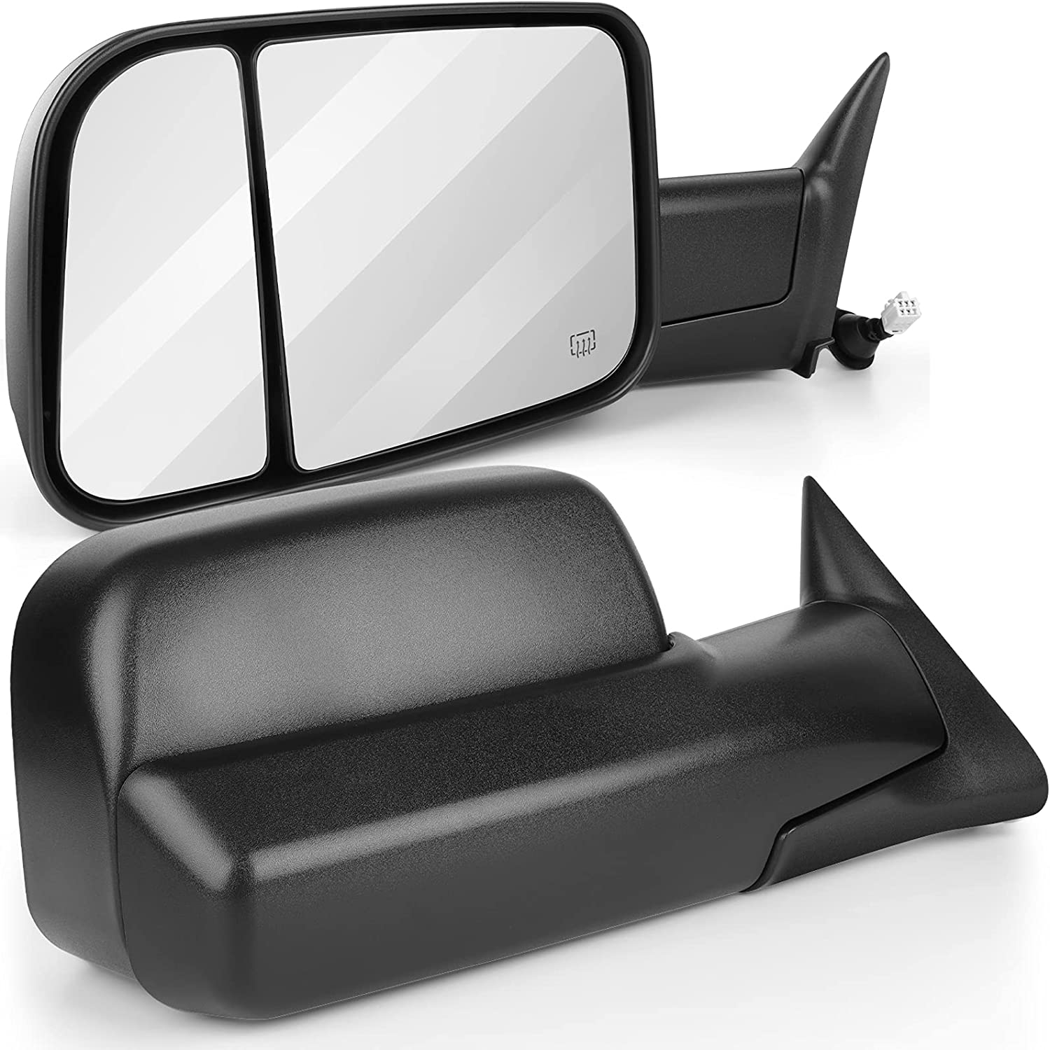 ANPART Towing Long-awaited Mirrors Brand Cheap Sale Venue Fit for 1998-2001 Ram 15 For FOR DODGE