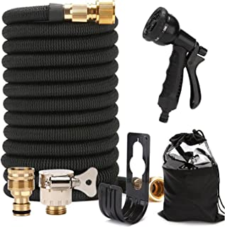 Watering Hoses & Accessories 100-foot Garden Hose 30 M Watering Set Water Spray Tool Automatic Garden Irrigation Kit 3 Tim...