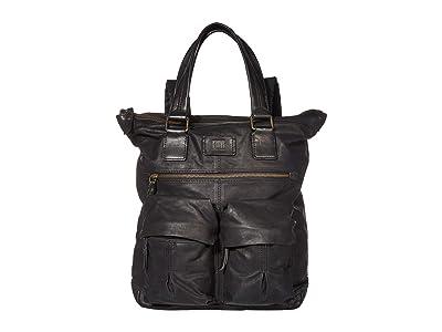 Frye Scout Tall Backpack (Black) Backpack Bags