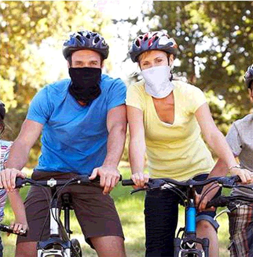 Sun UV Neck Gaiter Face Scarf Balaclava Mouth Bandanas for Men Women for Sports