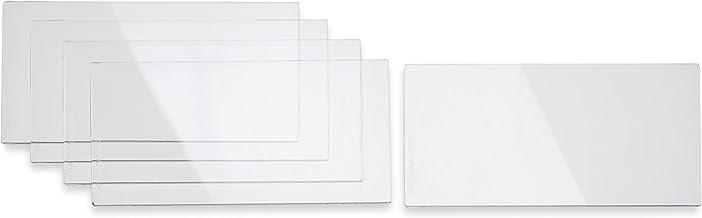 "Miller 216327 4 1/4"" x 2 1/2"" Inside Lens Cover for use with Elite, Digital Elite and Titanium 9400/9400i Helmets"