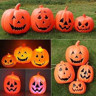 Uonlytech Halloween Pumpkin Lights Outdoor Light up Pumpkins Halloween Props Party Favor Supplies