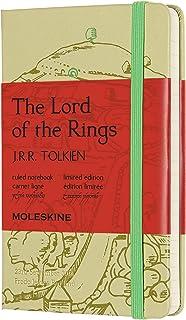 Moleskine - Cuaderno El Señor de los Anillos Edición Limitada, Tapa Dura, Goma Elástica y Páginas con Rayas, El Señor de l...