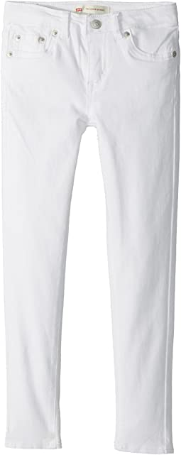 Levi's® Kids 710 Brushed Twill Super Skinny Jeans (Little Kids)