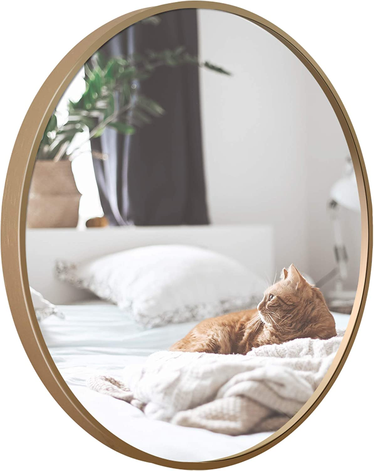 Round sold out Mounting Mirror Wall Decor Circle - 35% OFF with Cha Vanity