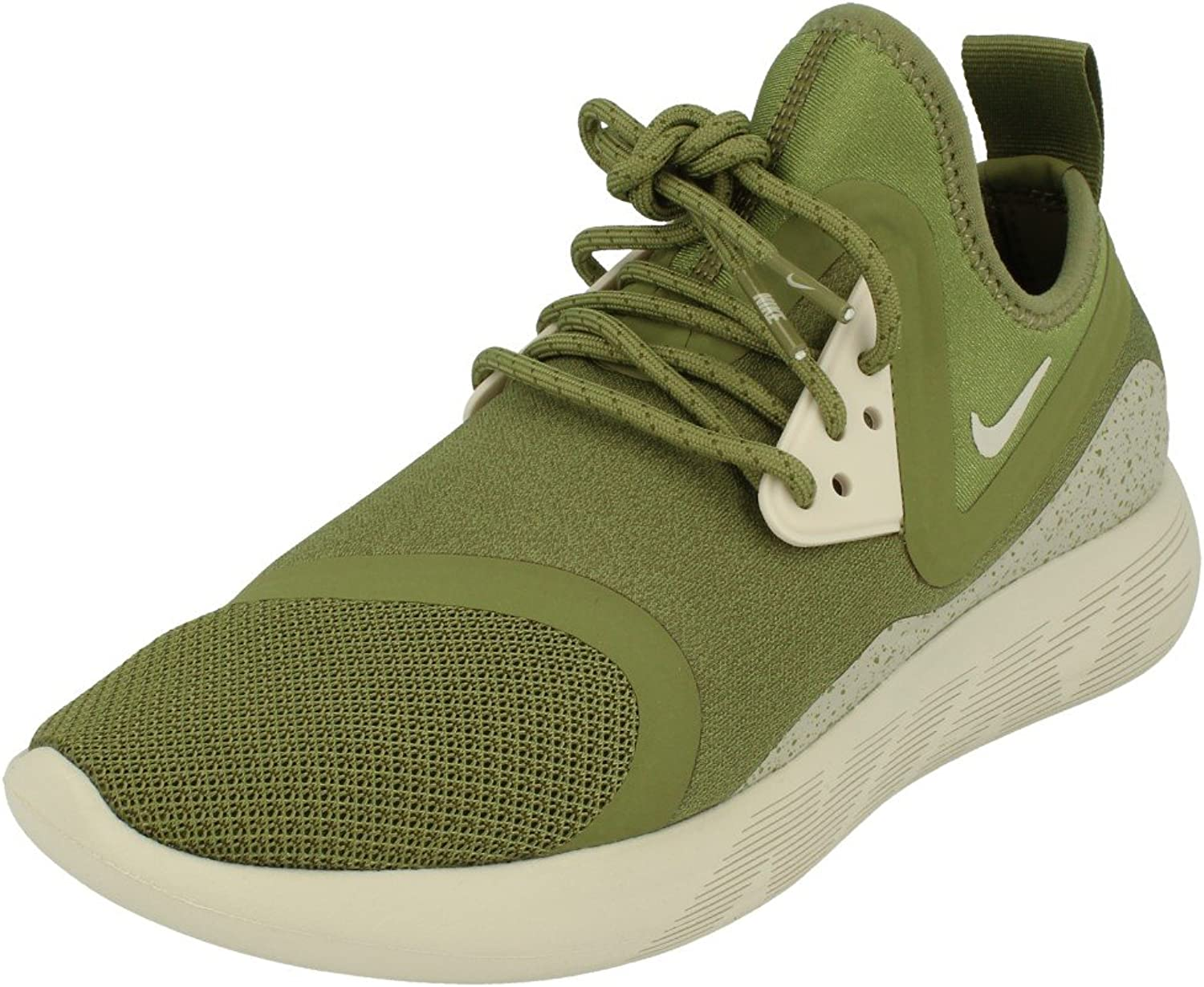 Nike Lunarcharge Essential Mens Running Trainers 923619 Sneakers shoes (UK 6.5 US 7.5 EU 40.5, Palm Green Bone Volt 307)