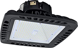 EverWatt 100W LED High Bay Light Fixture, 5000K, 14403 Lumens, Replaces Metal Halides and HPS, and is First Ever Compact LED Replacement for 4ft or 8ft Linear Fixtures for Warehouses and Shop Lights