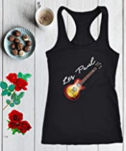 Electric Guitar Gibson Racerback Tank Top Les Paul 50s 60s Classic Jazz Blues Country Tribute Music Gift Women Premium Tank Tops