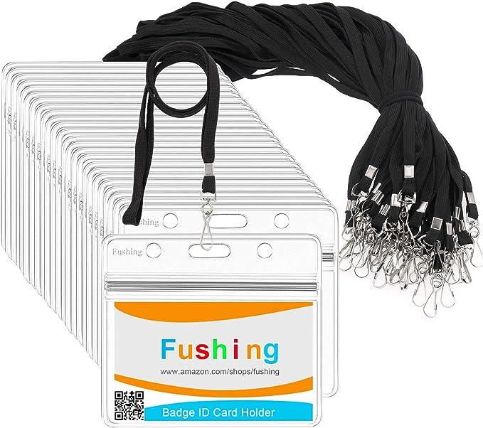1406 opinioni per Fushing 30 Livelli di Trasparenti Possessori Nome Tag Plastica e 30 della